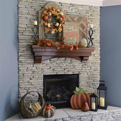 cozy elegance creative ways  decorate  mantel  fall