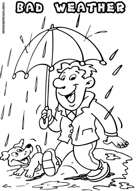 Coloring Weather by Weather Coloring Pages Coloring Pages To And Print