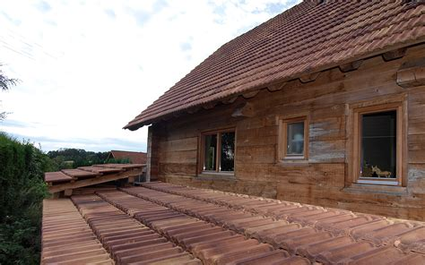 haus ohne dachüberstand haus ohne kniestock mit 45 176 dachneigung duffner blockbau