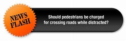 Walk Flash Road Safety Don Pedestrian