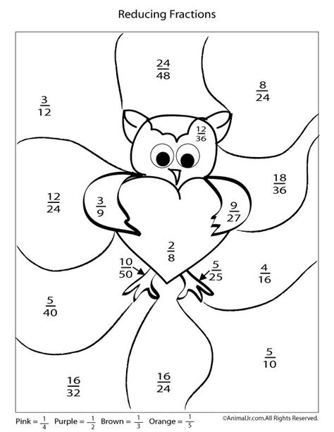 printable valentine s day multiplication and fractions