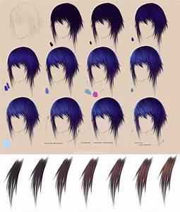 Hair Tutorial by artisticxhelp on DeviantArt