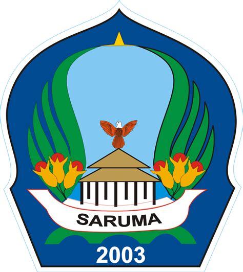 logo kabupaten halmahera selatan kumpulan logo indonesia