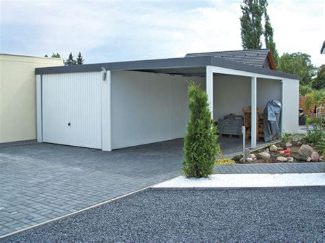fertiggarage mit carport fertiggarage mit carport carport garagen kombi