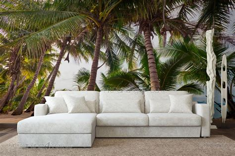 wall murals tropical canvas prints posters palm trees