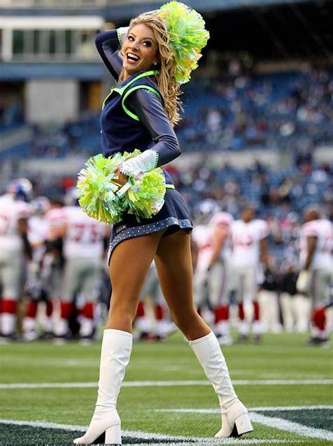seattle seahawks cheerleaders  cheerleaders