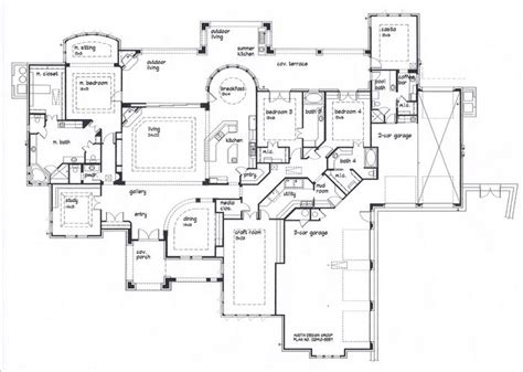 Mudroom Floor Plans by Floor Plan With Large Kitchen And Mudroom Casita