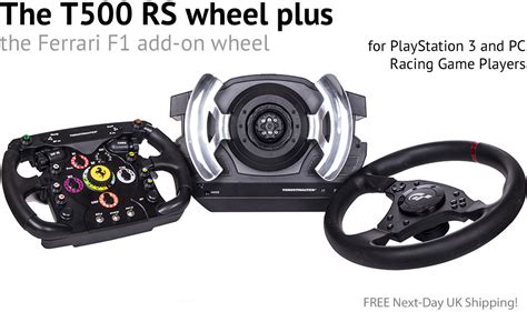 thrustmaster f1 wheel bundle the thrustmaster t500 rs wheel together with the
