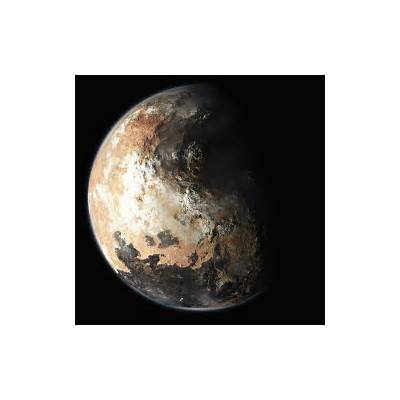 Solar System Exploration: Multimedia: Gallery: Planetary Images: Artist's Concept: Pluto's North