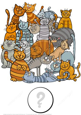 cats      picture  printable puzzle games