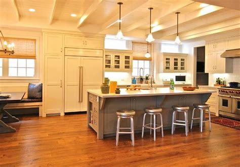 ilot central cuisine avec table int 233 gr 233 e deco maison moderne