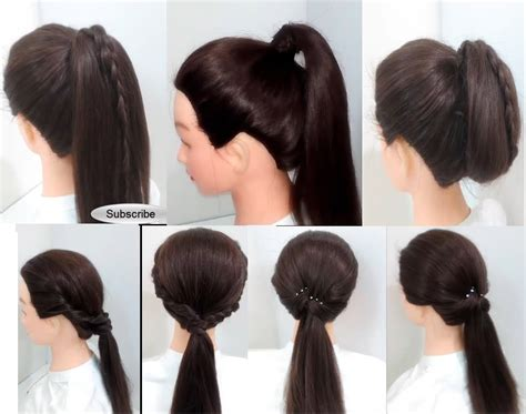 Simple Puff Hairstyles For Girls  Girly Hairstyle Inspiration
