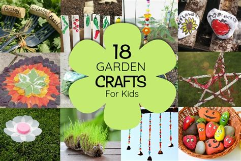 Garden Crafts : 18 Top Garden Crafts For Kids Will Love Making