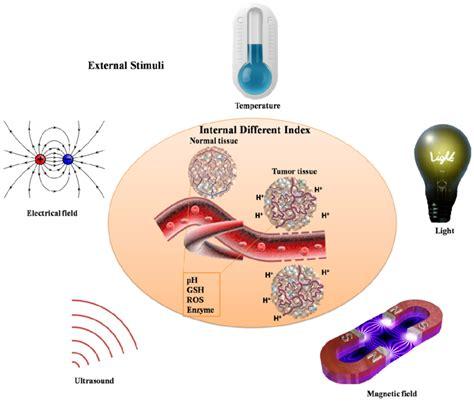 Schematic illustration of various stimuli including internal different...   Download Scientific ...