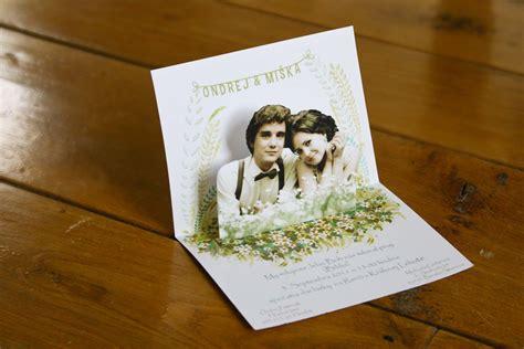 pop up wedding invitation Fun wedding invitations