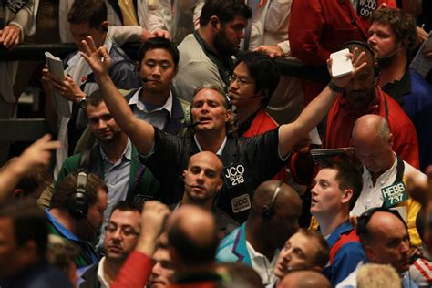 cme group  close  floor based trading  chicago