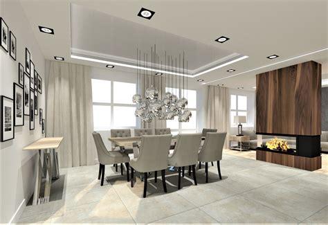 Wystrój Wntrz Salon by Kuchnia Jadalnia I Salon W Domu Pracownia Aranżacji