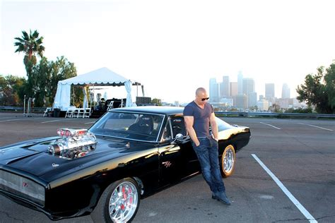vin diesel furious fast charger dodge 1970 movie cam paul standing newton collection cars carro walker worth gto film