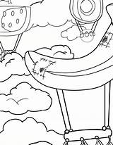 Coloring Waffle Pages Balloon Air Smash Waffles Chicken sketch template