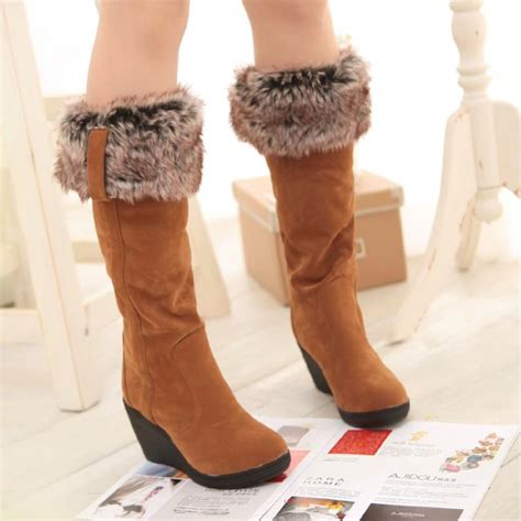 wedge snow boots aliexpress buy snow boots winter boots wedges