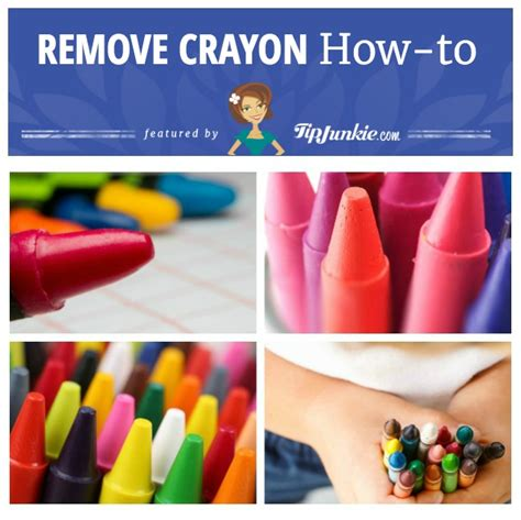 Remove Crayon From Upholstery by How To Remove Crayon Stains Tip Junkie