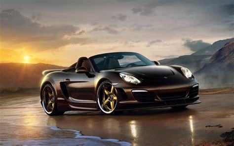 Black Custom Porsche, Hd Cars, 4k Wallpapers, Images