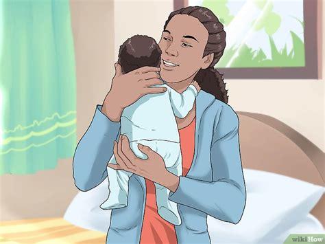 comment tenir  bebe  etapes avec des