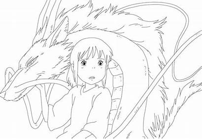 Away Spirited Pages Colouring Picolour Ie