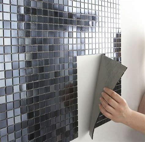 plaques adhesives salle de bain dalle adhesive salle de bain mural