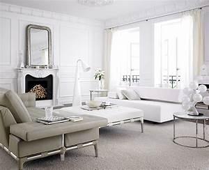 Wohnzimmer in wei wohnzimmer sch ner wohnen for Wohnzimmer weiß einrichten