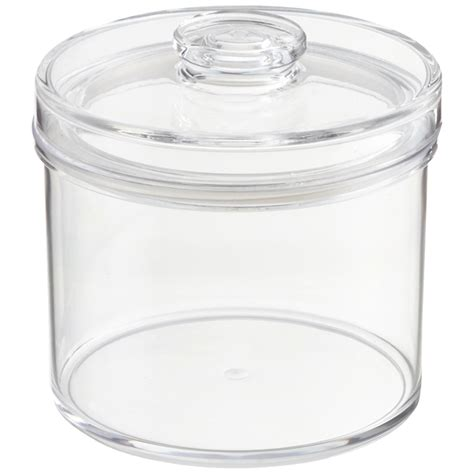 clear plastic kitchen canisters clear acrylic canisters the container store