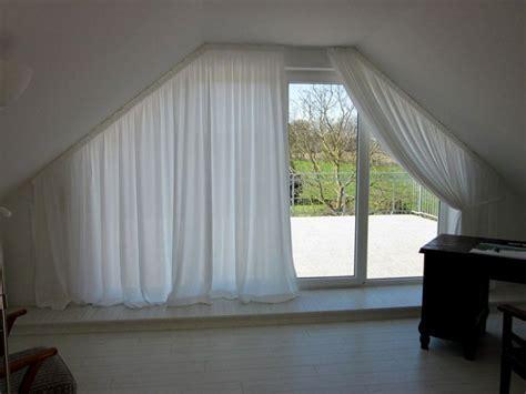 gardinen fuer giebelfenster haus design ideen