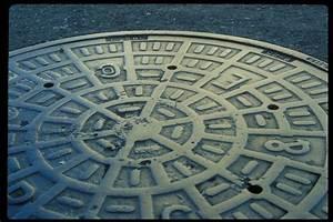 Free Manhole Cover San Francisco Stock Photo