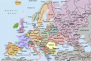 map of europe with cities | Europe Cities Map Details ...