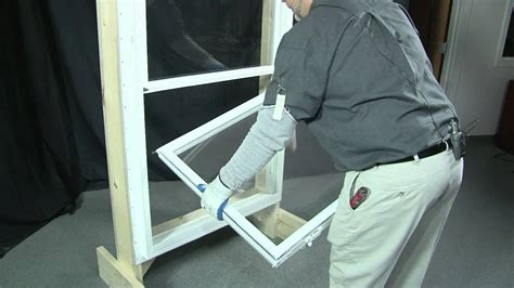 How To Remove And Replace A Bottom And Top Sash Youtube