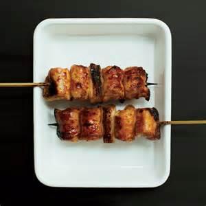 Chicken Thigh Yakitori Recipe
