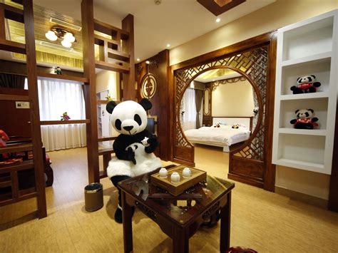 worlds  panda hotel opens  independent