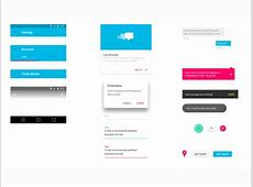 Android L UI Kit Sketch freebie Download free resource