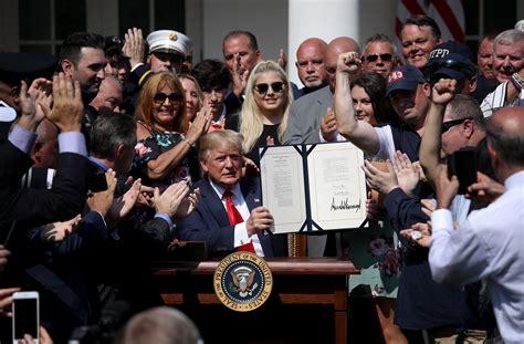 trump signs   responders relief bill  daily caller