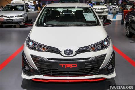 Inilah Sosok Toyota Yaris Ativ Trd Di Bangkok Motor Show