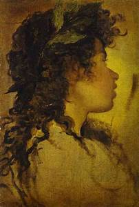 Study for the Head of Apollo - Diego Velazquez Painting