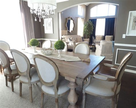 rustic grey dining table best 25 dining room curtains ideas on dining 4976