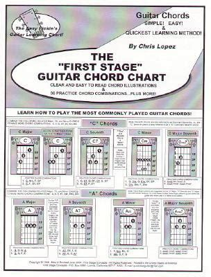 stage guitar chord chart learn   play
