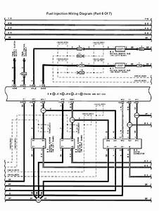 Fuel Injection Wiring Diagram  Part 6 Of 7
