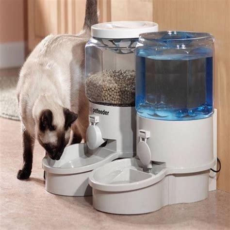 automatic pet feeder reviews ergo auto pet feeder 2000gs review gadgetking