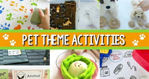 pets theme activities for preschool pre k pages 733   Pet Theme Activity Ideas for Preschool