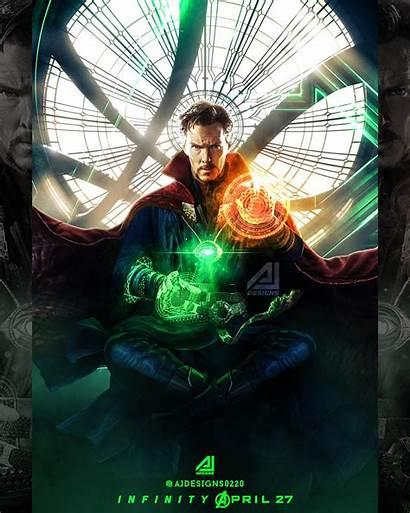 Strange Infinity War Doctor Dr Poster Marvel