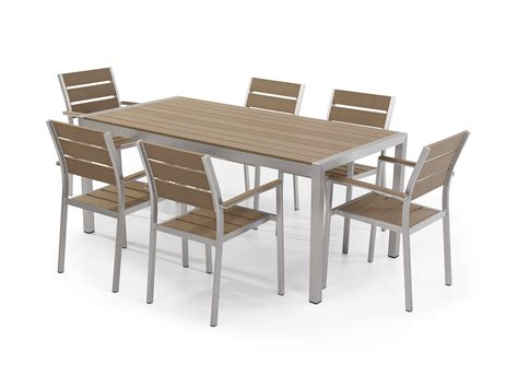 sofa dining set garden garden dining set table and chairs set 6 chairs aluminum