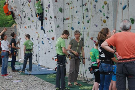 outdoor kletterwand alpenverein rottenburg