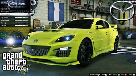 Mazda RX 8 GTA V car mod tuning !! [ Soley911 ] - YouTube